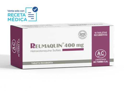 REUMAQUIN 400 MG - HIDROXICLOROQUINA (Caja x 10 Tabletas)