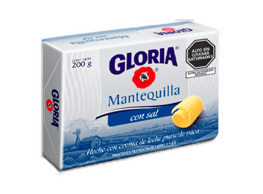 MANTEQUILLA CON SAL - GLORIA