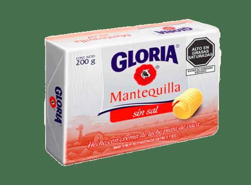 MANTEQUILLA SIN SAL - GLORIA