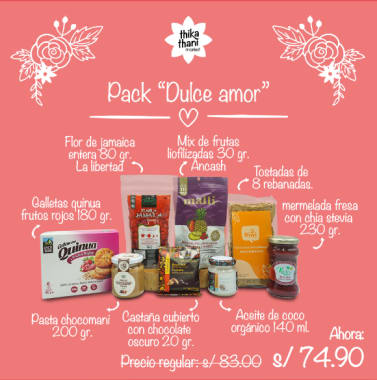 PACK DULCE AMOR