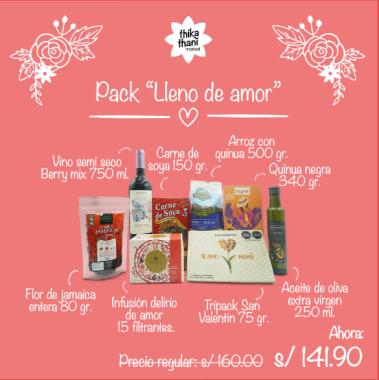 PACK LLENO DE AMOR