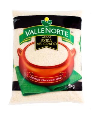 Arroz Valle Norte Extra Mejorado 5kg