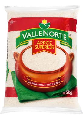Arroz Valle Norte Superior 5kg