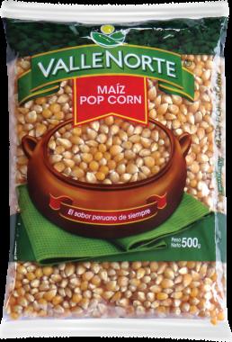 Maiz Pop Corn Valle Norte 500gr