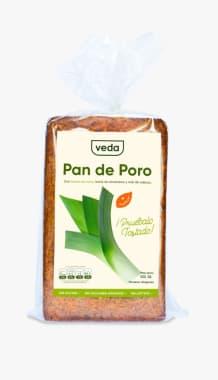 PAN DE PORO VEDA 550 GR