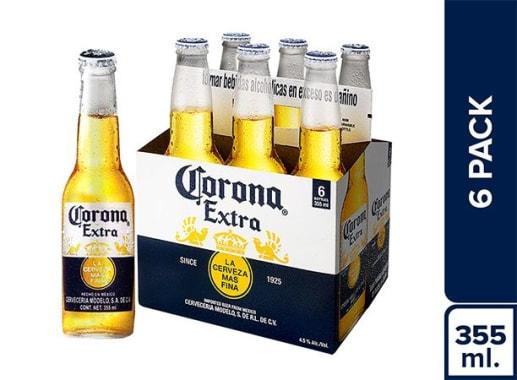 Cerveza Corona Six Pack