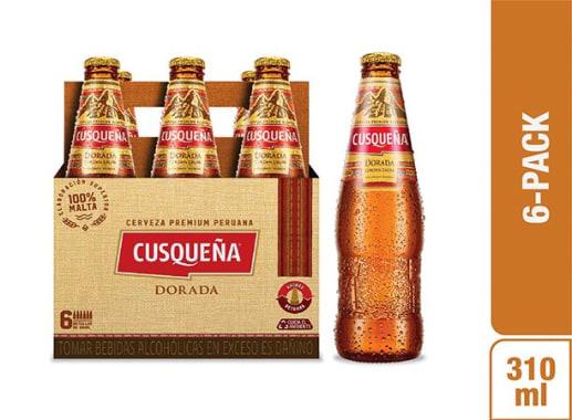 Cerveza Cusqueña Dorada Six Pack