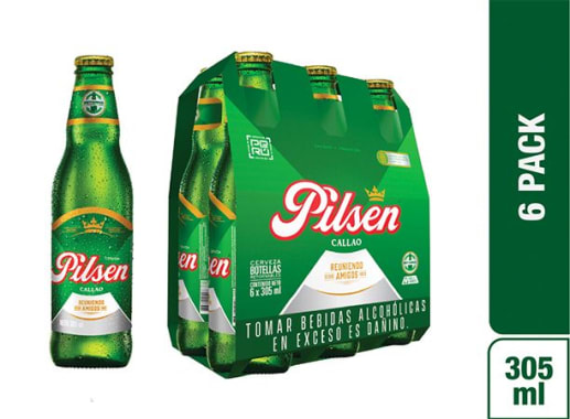 Cerveza Pilsen Callao Six Pack