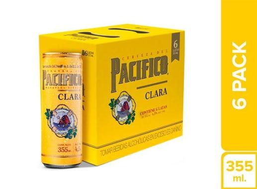 Cerveza Pacifico Six Pack