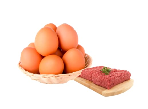 Combo Huevo + Carne Molida