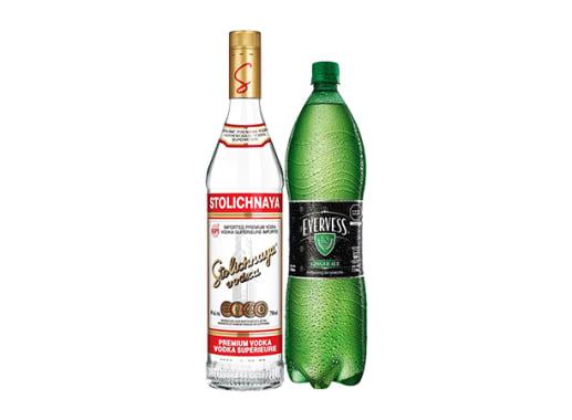 Vodka Ginger Stolichnaya