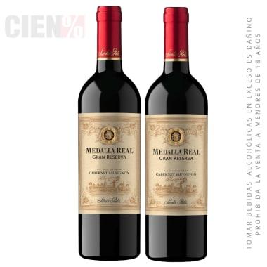 02 Vino Medalla Real Gran Reserva Cabernet Sauvignon 750 Ml