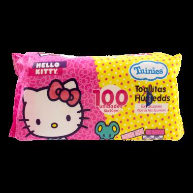 Toallitas Humedas Hello Kitty x100 und