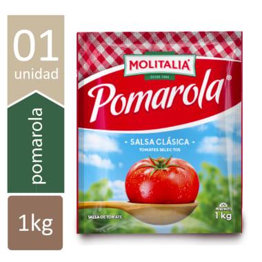 MOLITALIA SALSA DE TOMATES POMAROLA 1KG