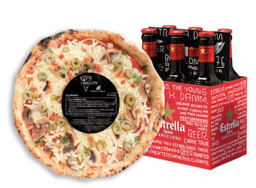 PIZZA PACK - VEGETARIANA