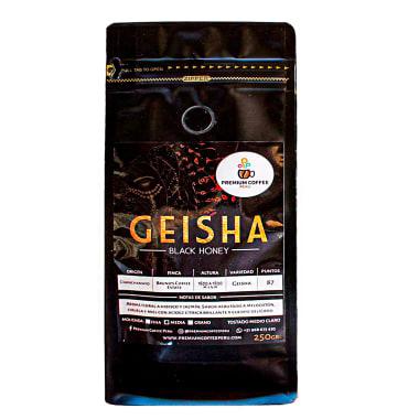 CAFE GEISHA MOLIDO MEDIO PREMIUM COFFEE 250 g