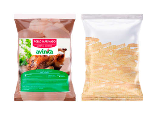 Pollo sabor Cilindro + Papas
