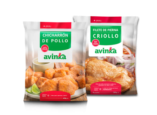 Chicharrón de pollo + Filete a la  Criolla