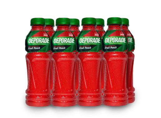 DEPORADE FRUIT PUNCH PET NO RETORNABLE 360 ML 8
