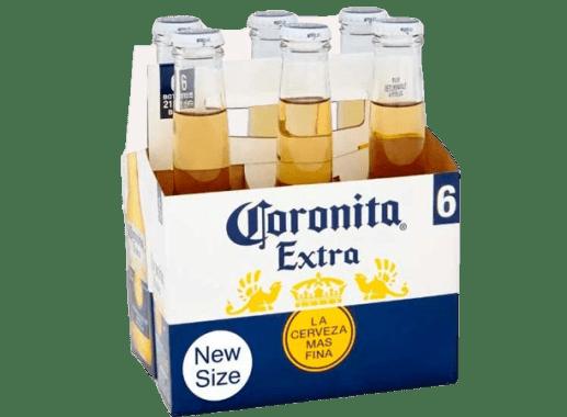 Cerveza Coronita X 6Und x 210 Ml C/U