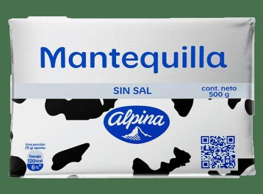 Mantequilla Sin Sal 500gr