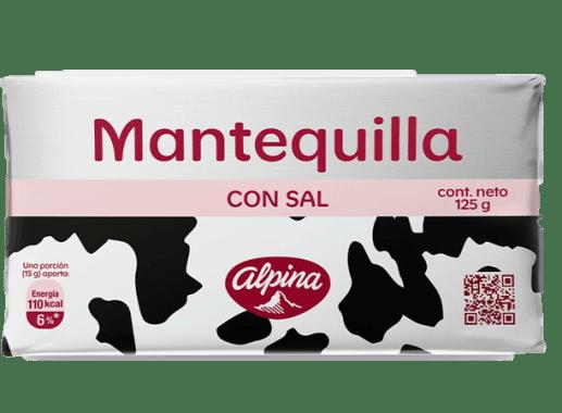 Mantequilla Con Sal 125gr