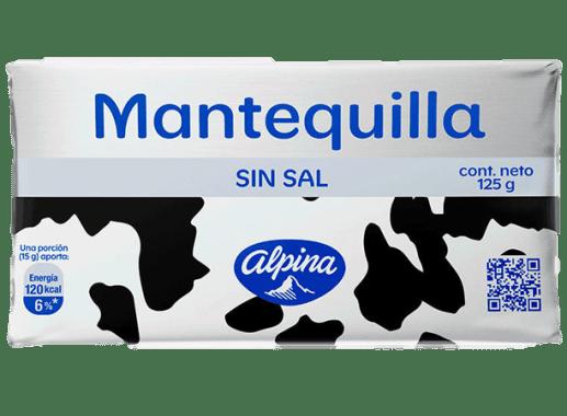 Mantequilla Sin Sal 125gr