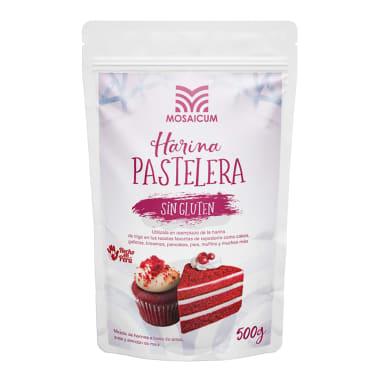 HARINA PASTELERA SIN GLUTEN MOSAICUM 500 g