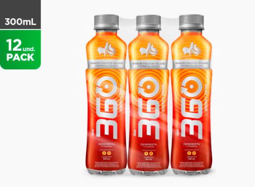 360 Energy Drink Frutos Rojos 300 ML