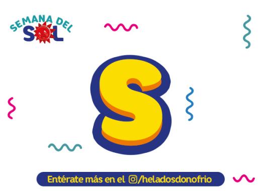 """Semana del Sol """"S"""""""