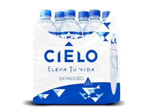 6 pack Agua Cielo 625ml