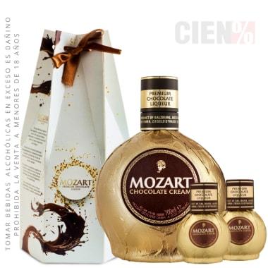 CYBER Mozart: Botella 700 ml + 02 Botellas de 50 ml en caja especial