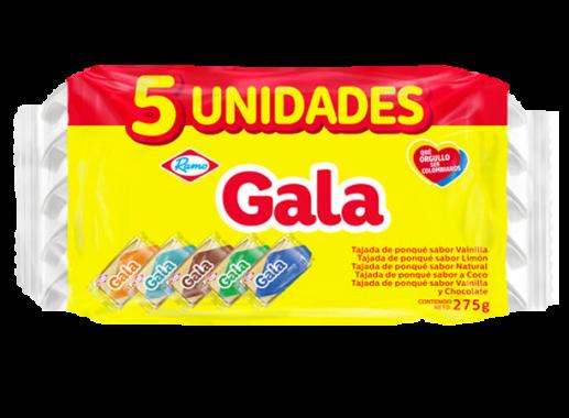 Gala Tajada X 5 Unds De 60gr