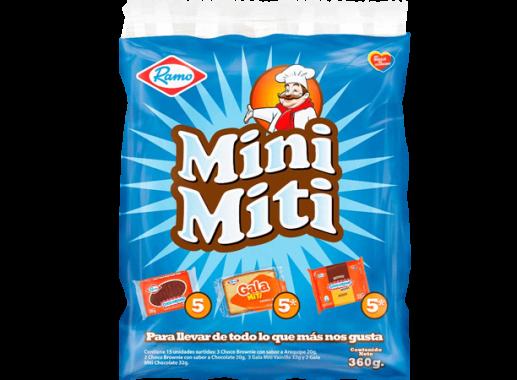 Pack Surtido Mini-Miti X 15 Unds X 360gr