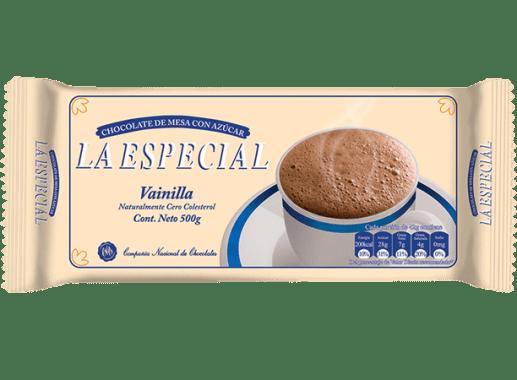 Chocolate La Especial Vainilla 500gr