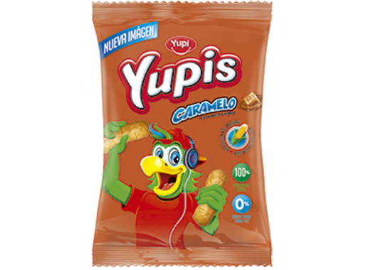 Yupis Caramelo X 5 Unds De  50gr