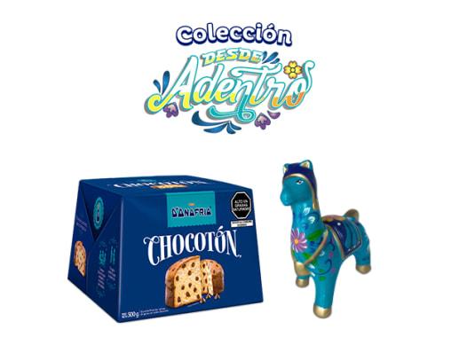 Pack Llamita con Chullo Turquesa Chocotón