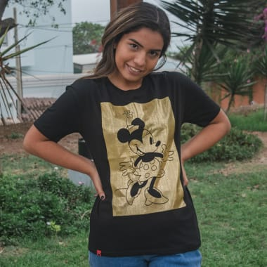 POLO MUJER MINNIE MOUSE