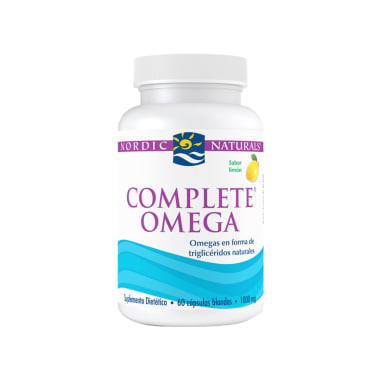 NORDIC COMPLETE OMEGA SABOR LIMON NATURALS 60 CAPS 1000MG
