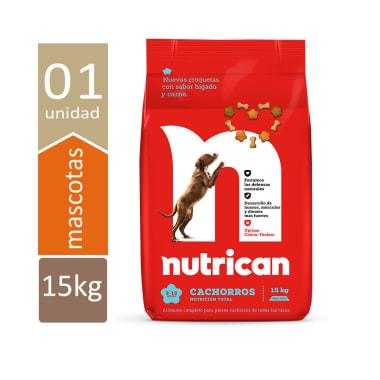 NVO NUTRICAN CACHORROS 15KG + ENVIO GRATIS