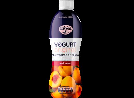 Yogurt X 1,000gr Original Melocoton Botella