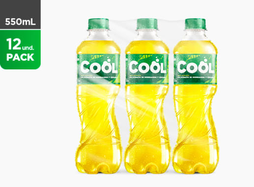 Cool Cola Amarilla 550 ML