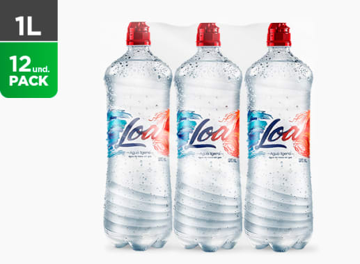 Agua Loa sin gas 1000 ML