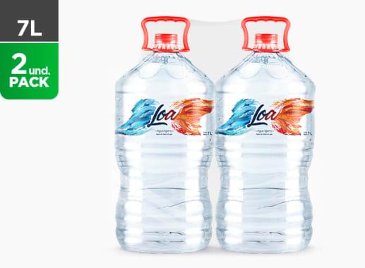 Agua Loa sin gas 7 L