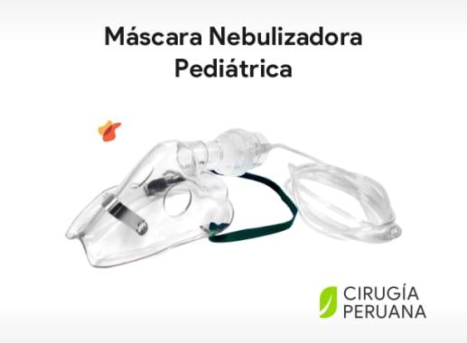 Máscara nebulizadora pediatrica