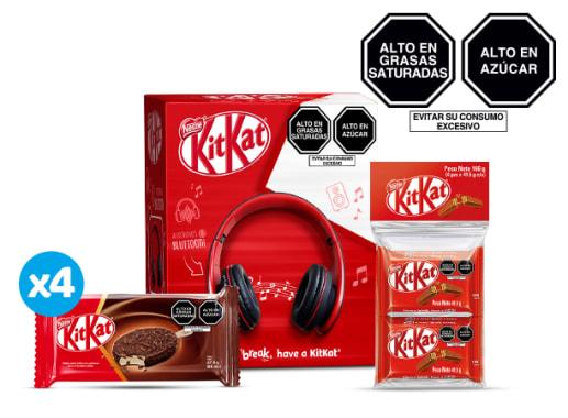 Combo Headphone + Cross Kit Kat