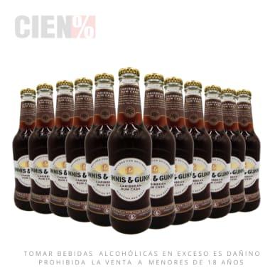 12 Pack Cerveza Innis Caribbean Rum Cask 330 ml