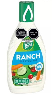 Wishbone Salsa para Ensalada Ranch