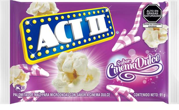 Act II Canchita para microondas Cinema Dulce