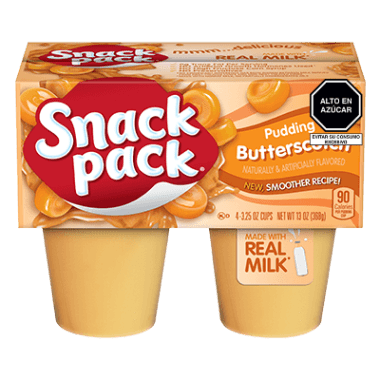 Snack Pack Pudin Butterscotch